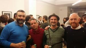 """Inauguración """"Una barba para dos"""" en Factoría de Arte y Desarrollo. Con Carlos Escolástico"""