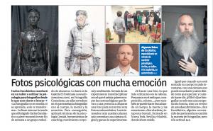 Fotografía y psicología artículo diario 20minutos Sevilla
