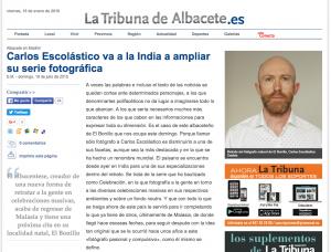 Fotografía y psicología artículo La Tribuna Albacete