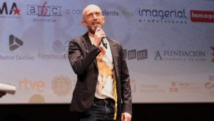 Carlos Escolástico en Festival de Cine de Madrid